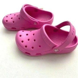 Crocs Iconic Comfort Classic Clogs Pink
